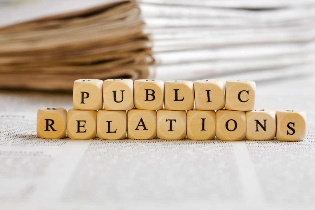 public relations on dices