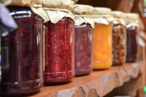 jams in jars