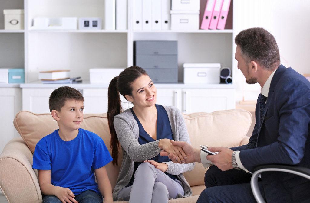 parent teacher talk