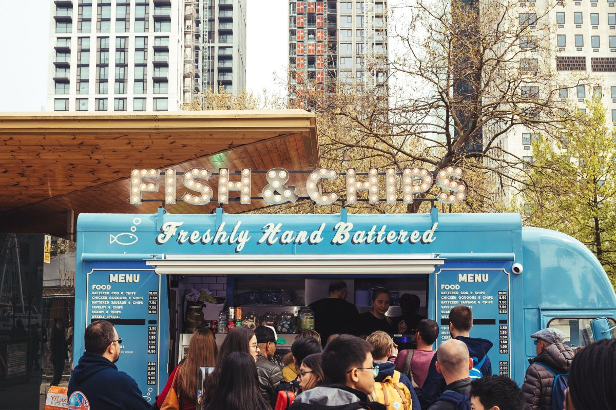 fish & chips food truck