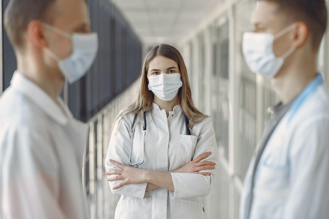 three nurses