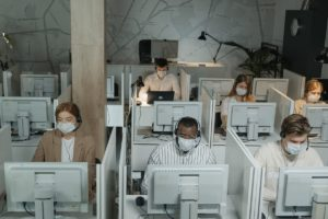 office during the pandemic