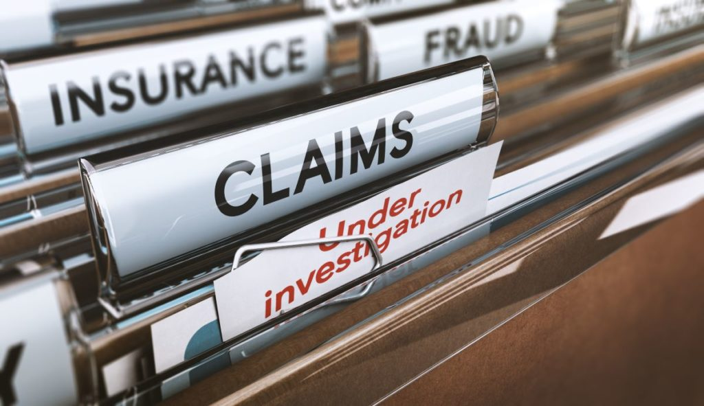 insurance claims frauds files