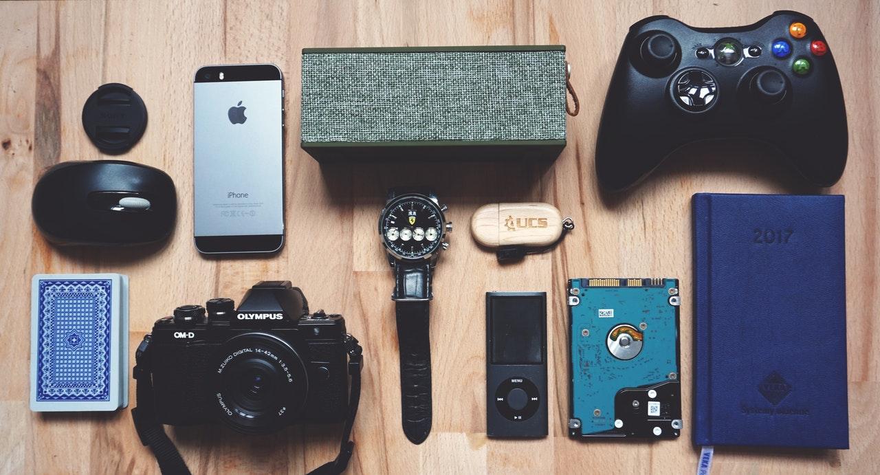 various gadgets