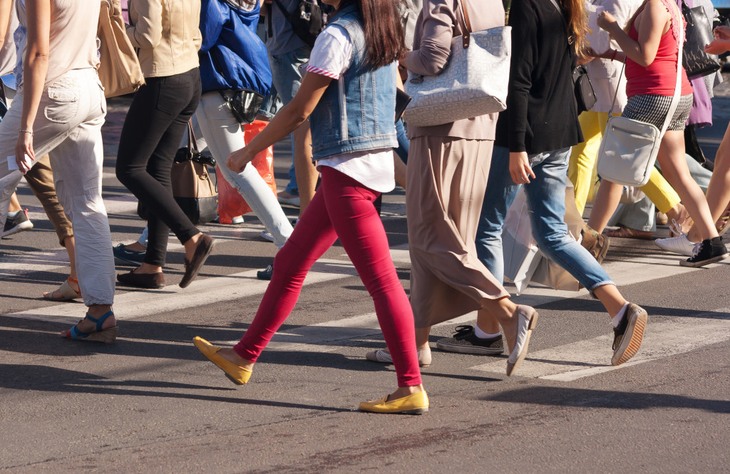 Improving the Safety of People Who Choose to Walk