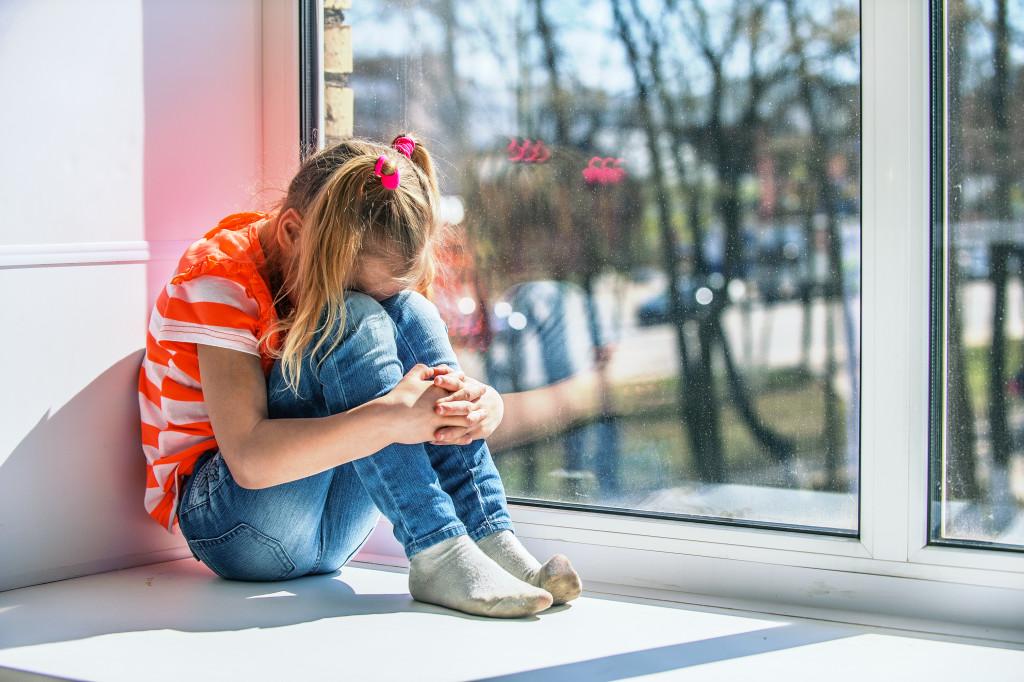 isolated child